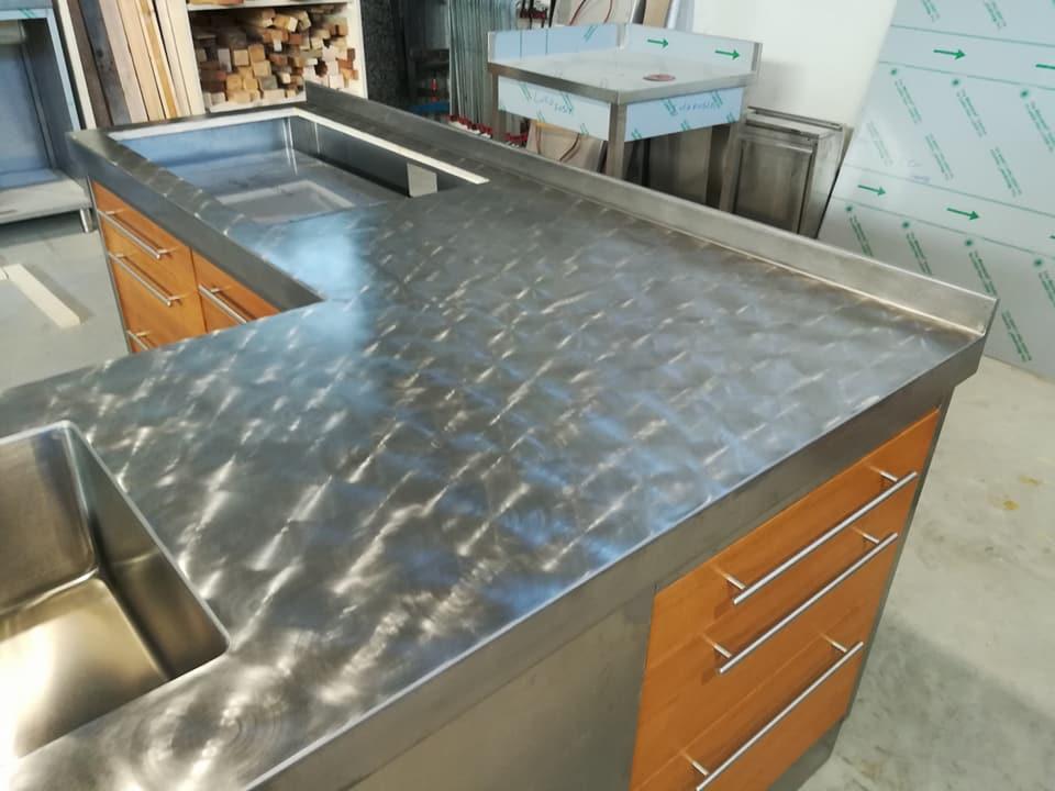 Cucina in acciaio inox a Torino