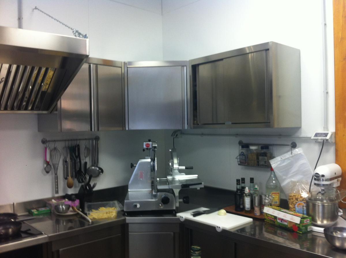 Cucina professionale in acciaio inox per Ristoranti - Torino